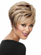 Marian® SW0015 Synthetic Short Straight Fashion Layered Bob Wigs +A Free Wig Cap
