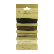 Pure Hemp 0.5mm Natural Earthy Colours