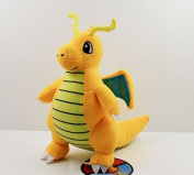 23cm Pokemon Plush Dragonite Doll Plush Anime Doll Stuffed Animals Cute Soft Collection Toy Best Gift for Kids