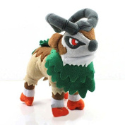 18cm Pokemon Plush Gogoat Doll Plush Anime Doll Stuffed Animals Cute Soft Collection Toy Best Gift for Kids