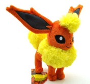 18cm Pokemon Plush Flareon Plush Anime Doll Stuffed Animals Cute Soft Collection Toy Best Gift for Kids