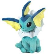 17cm Pokemon Plush Vaporeon Plush Anime Doll Stuffed Animals Cute Soft Collection Toy Best Gift for Kids