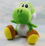 17cm Super Mario Bros Yoshi Green Plush Anime Doll Stuffed Animals Cute Soft Collection Toy Best Gift for Kids
