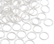Godagoda Silver Colour Closed Jump Rings Pack of 200pcs