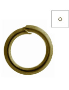 FreshHear Pack of 690 Open Jump Rings Shape Round Colour Antique Brass 5x5x0.7 Outside Diameter 5mm