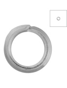 FreshHear Pack of 1860 Open Jump Rings Shape Round Colour Nickel Plated 3x3x0.7 Outside Diameter 3mm