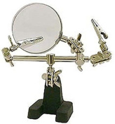 Hands Free Helping Hand Hobby Magnifier 3X Magnifying Jewellery Repair Work