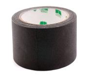 7.6cm Black Coloured Premium-Cloth Book Binding Repair Tape   15 Yard Roll