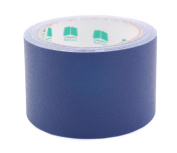 7.6cm Navy Blue Coloured Premium-Cloth Book Binding Repair Tape   15 Yard Roll