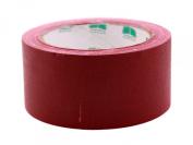 5.1cm Burgundy Coloured Premium-Cloth Book Binding Repair Tape   15 Yard Roll