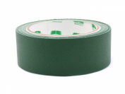 2.5cm - 1.3cm Forest Green Coloured Premium-Cloth Book Binding Repair Tape   15 Yard Roll