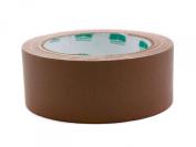 2.5cm - 1.3cm Brown Coloured Premium-Cloth Book Binding Repair Tape | 15 Yard Roll