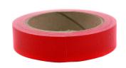 2.5cm Red Coloured Premium-Cloth Book Binding Repair Tape   15 Yard Roll