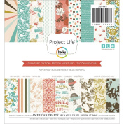 Becky Higgins Project Life 6x6 Paper Pad 36/pkg - Adventure Edition