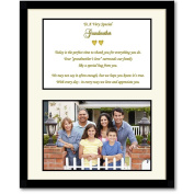Grandmother Mother's Day Gift - Frame with Sweet Poem - Add Photo