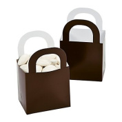 Chocolate Brown Favour Gift Baskets