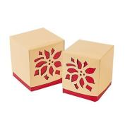 Poinsettia Favour Boxes