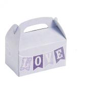 Mini Lilac Love Treat Boxes