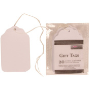 White Extra Small Gift Tag
