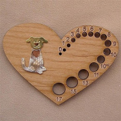 Puffin & Company Knitting Needle Gauge - Puppy