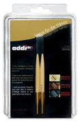 addi Click Natura Bamboo Replacement 5-inch (13cm) Tip Pair; Size US 8