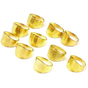 10pc 17x13mm Thimble Sewing Quilting Thimble Ring DIY Craft Finger Protector