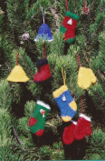 Felt Christmas Ornaments Fibre Trends Knitting Pattern FT-210