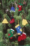 Felt Christmas Ornaments Fibre Trends Knitting Pattern FT-210