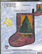 Florentine Noel Stocking, Embroidery Pattern By Candamar Designs, Pattern 80355