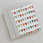 Baby's First Book in Multicoloured Bunting Cover Option