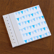 Baby's First Book in Bunting Blue Cover Option