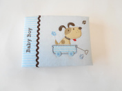 Baby Essentials Baby Brag Book Blue Dog