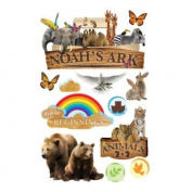 3-d Noah's Ark Embellished Stickers