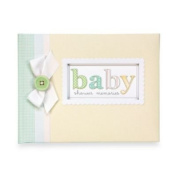 C.r. Gibson Baby Shower Keepsake Memory Book