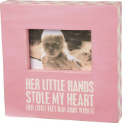 Primitives by Kathy Her Little Hands Box Frame in Pink
