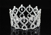 Exquisite Rhinestones Crystal Photo Prop Baby Tiara Crown
