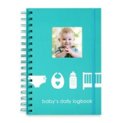 "Pearhead ""baby's Daily Logbook"" In Blue"