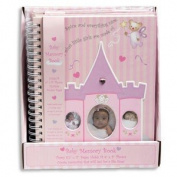 BABY GIRL MEMORY BOOK ~ 28cm Pink Sugar & Spice Journal ~ Record Special Moments Keepsake Milestones ~ Baby Shower Newborn Gift CHRISTMAS New Mom ~ Adorable