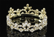Exquisite Rhinestones Crystal Photo Prop Newborn Baby Tiara Crown