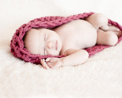 Xinmao Yuanming Newborn Blanket Crochet Knitted Unisex Baby Cap Outfit Photo Props