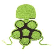 Newborn Tortoise Handmade Crochet Knitted Unisex Baby Cap