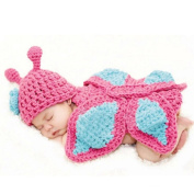 Xinmao Yuanming Newborn Crochet Knitted Unisex Baby Cap Outfit Photo Props