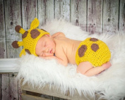 Xinmao Yuanming Newborn Handmade Crochet Knitted Unisex Baby Cap Outfit Photo Props