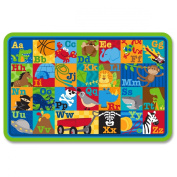 Stephen Joseph Placemat, Boy Alphabet, 6 Count