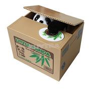 Cute Panda Piggy Bank Saving Money Box