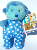 Garanimals Rattle ~ Blue Monkey