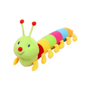 Bestcrew-us Plush toys colourful caterpillars pillow centipede plush dolls birthday gift