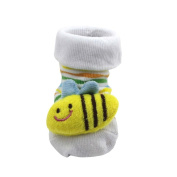 3D Cartoon Style Baby Socks Slippers Shoes Bootie for Baby Kid Toddler Newborn Gift