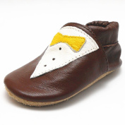 Sayoyo Baby Fish Soft Sole Leather Infant Toddler Prewalker Shoes