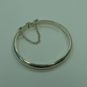 Genuine Sterling Silver Baby Bangle Bracelet for